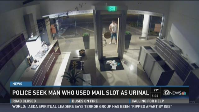 Police find male who sued mail container as urinal