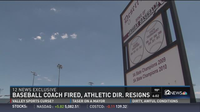 Baseball manager fired, entertainment executive resigns