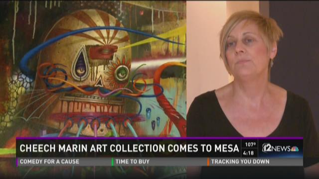 Mesa Arts Center is hosting actor Cheech Marin and his art collection to celebrate their tenth season in downtown Mesa.