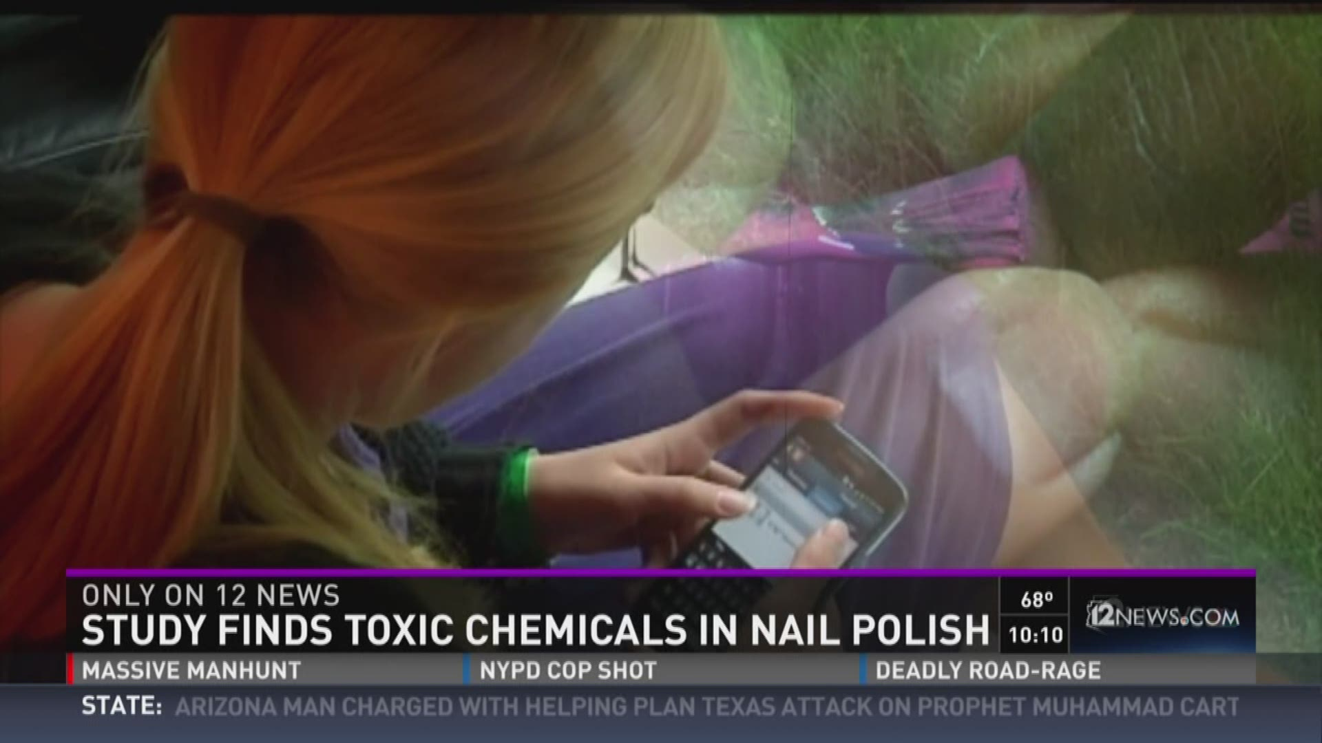 Study finds toxic chemicals in nail polish