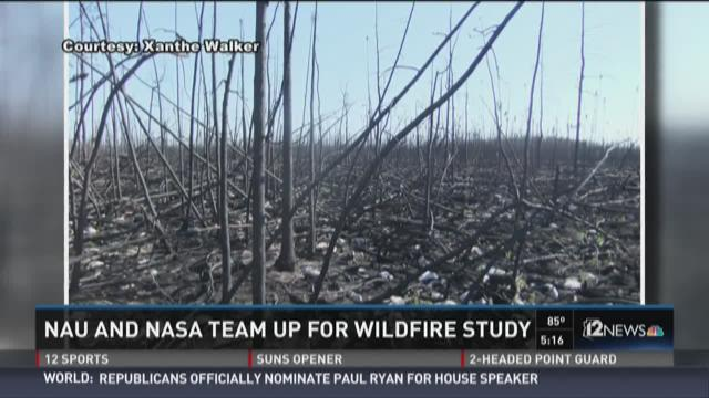 NASA is teaming up with NAU to conduct research involving the carbon emissions of 15 million acres that burned through parts of Alaska and Canada.