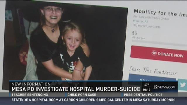 Shannon Griffith said his daughter felt backed into a corner by DCS just days before the apparent murder-suicide inside a hospital room.