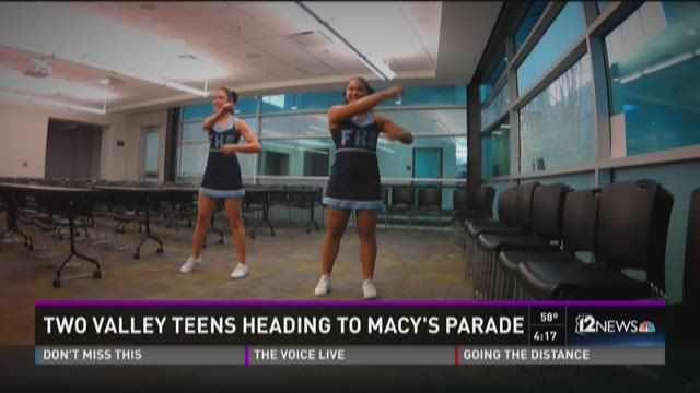 Two Valley teens heading to Macy's parade